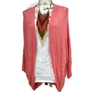 Sweaters - Open fine knit cardigan